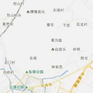 温州乐清旅游地图_中国电子地图网