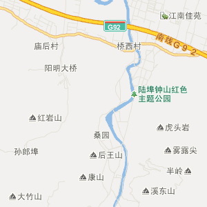 梨洲街道卫星地图 宁波市余姚市