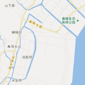 浙江旅游地图 宁波旅游地图