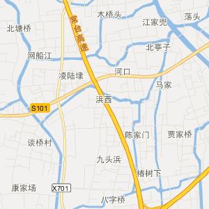 海盐通元旅游地图_中国电子地图网
