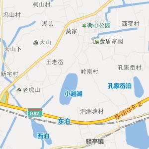 上虞驿亭旅游地图_中国电子地图网