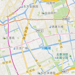 上海浦东旅游地图_浦东在线旅游图