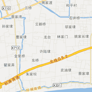 海宁长安旅游地图_中国电子地图网