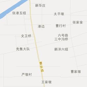 姜堰到海安的地图
