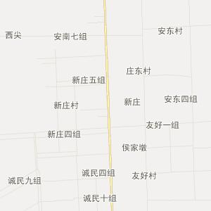 射阳县兴桥镇交通地图