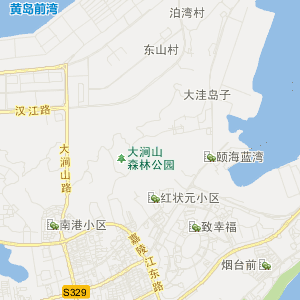 青岛黄岛交通地图_中国电子地图网