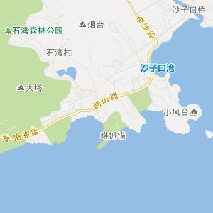 青岛崂山旅游地图_中国电子地图网