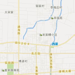 西欧旅游地图中文版