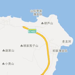 福山区大季家街道交通地图图片