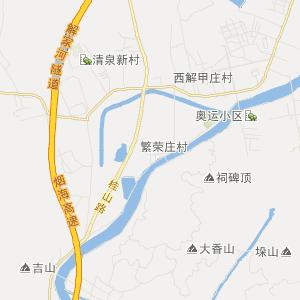 山东省交通地图 烟台市交通地图