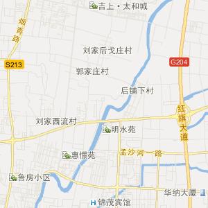 青岛市即墨市交通地图