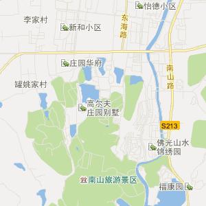 山东旅游地图 烟台旅游地图