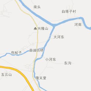 辽宁交通地图 葫芦岛交通地图 建昌交通地图 玲珑塔交通地图  uemap.