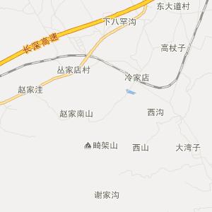 辽宁旅游地图 朝阳旅游地图