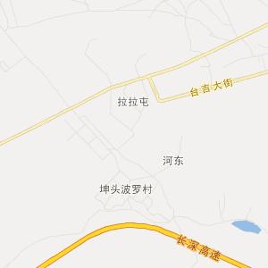 朝阳市北票市高清旅游地图