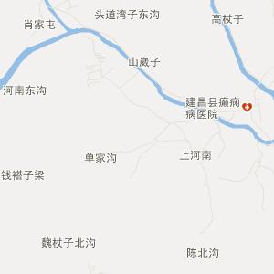 辽宁交通地图 葫芦岛交通地图 建昌交通地图 > 巴什罕交通地图   html