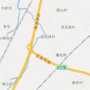 辽宁旅游地图 营口旅游地图