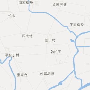 鞍山市台安县韭菜台镇卫星地图