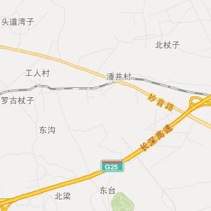 辽宁省朝阳市朝阳县地图