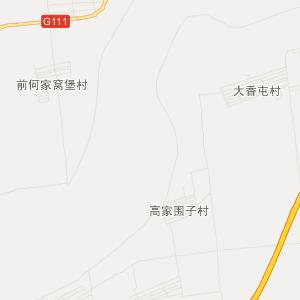 科尔沁木里图旅游地图