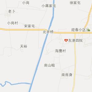 东港北井子交通地图
