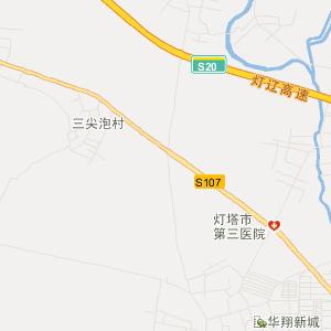 灯塔五星交通地图_中国电子地图网