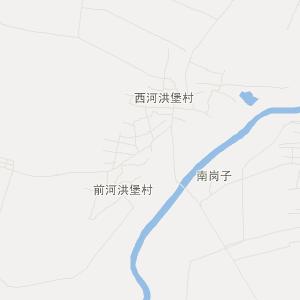灯塔西马峰旅游地图