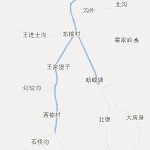 丹东凤凰山大梨树地图