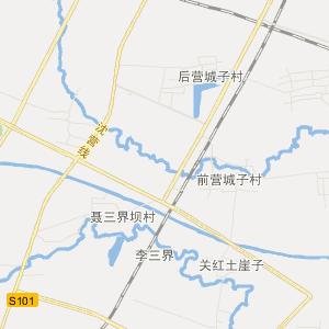 灯塔张台子交通地图_中国电子地图网