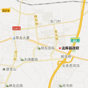 法库法库旅游地图_法库在线旅游图图片