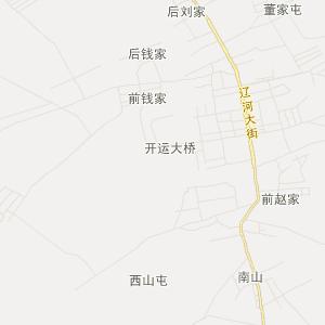 吉林省交通地图 四平市交通地图 梨树县交通地图 孤家子镇交通地图