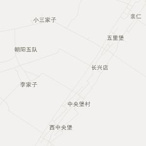 梨树小城子旅游地图_小城子在线旅游图