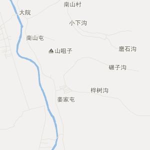 公主岭市龙山满族乡交通地图