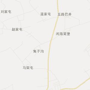 公主岭市刘房子街道旅游地图图片
