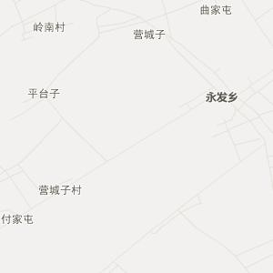 公主岭市永发乡旅游地图图片