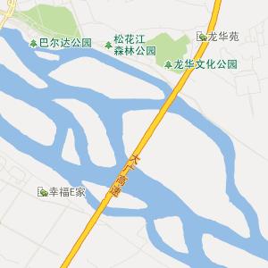 松原前郭交通地图_中国电子地图网