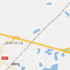 富拉尔基交通地图 碾子山交通地图