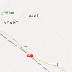 碾子山繁荣交通地图_中国电子地图网