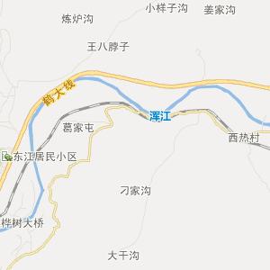 二道江区地图_二道江区三维电子地图和邮编图片
