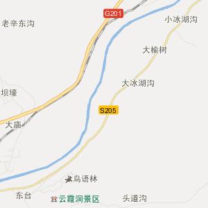二道江五道江交通地图图片