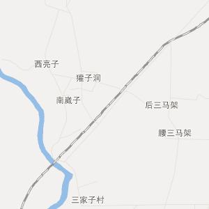 德惠达家沟交通地图_达家沟在线高清交通图查询;