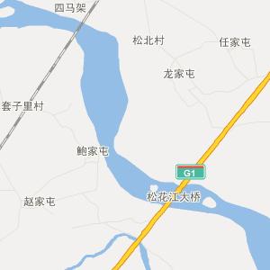 扶余县陶赖昭镇旅游地图图片
