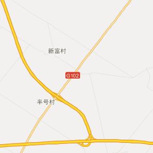 扶余三岔河旅游地图_中国电子地图网图片