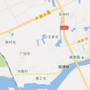 哈尔滨松北交通地图_中国电子地图网
