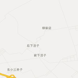 扶余县三井子镇交通地图图片