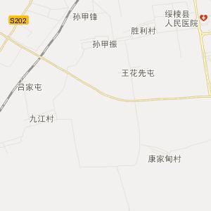 黑龙江旅游地图 绥化旅游地图