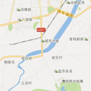 延边敦化交通地图_中国电子地图网