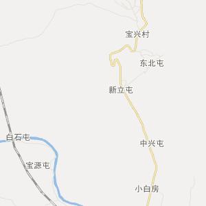吉林省交通地图 延边州交通地图