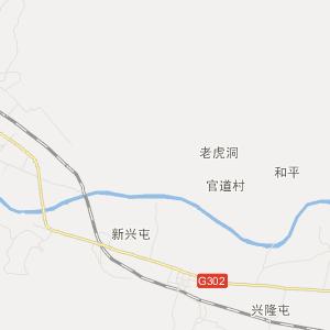 吉林省旅游地图 延边州旅游地图