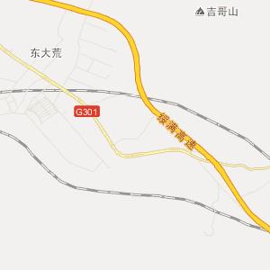 牡丹江市旅游地图 东宁县旅游地图